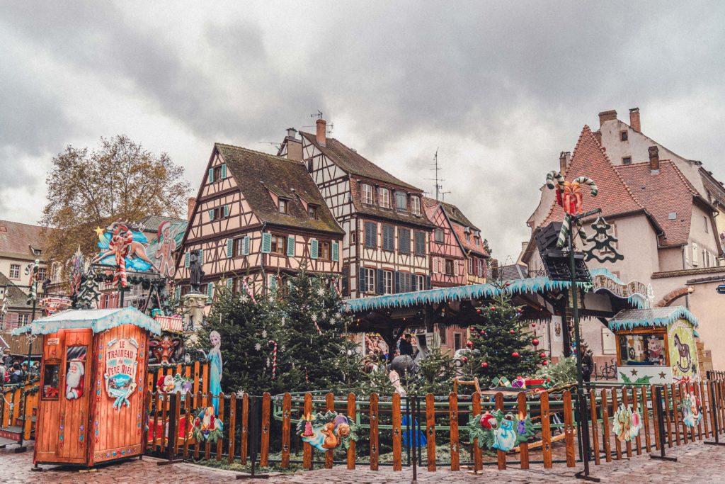 Petite Venise, Children's Christmas Market, Colmar, Alsace, France