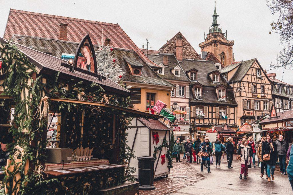 Place Jeanne d'Arc, Colmar, Alsace, France