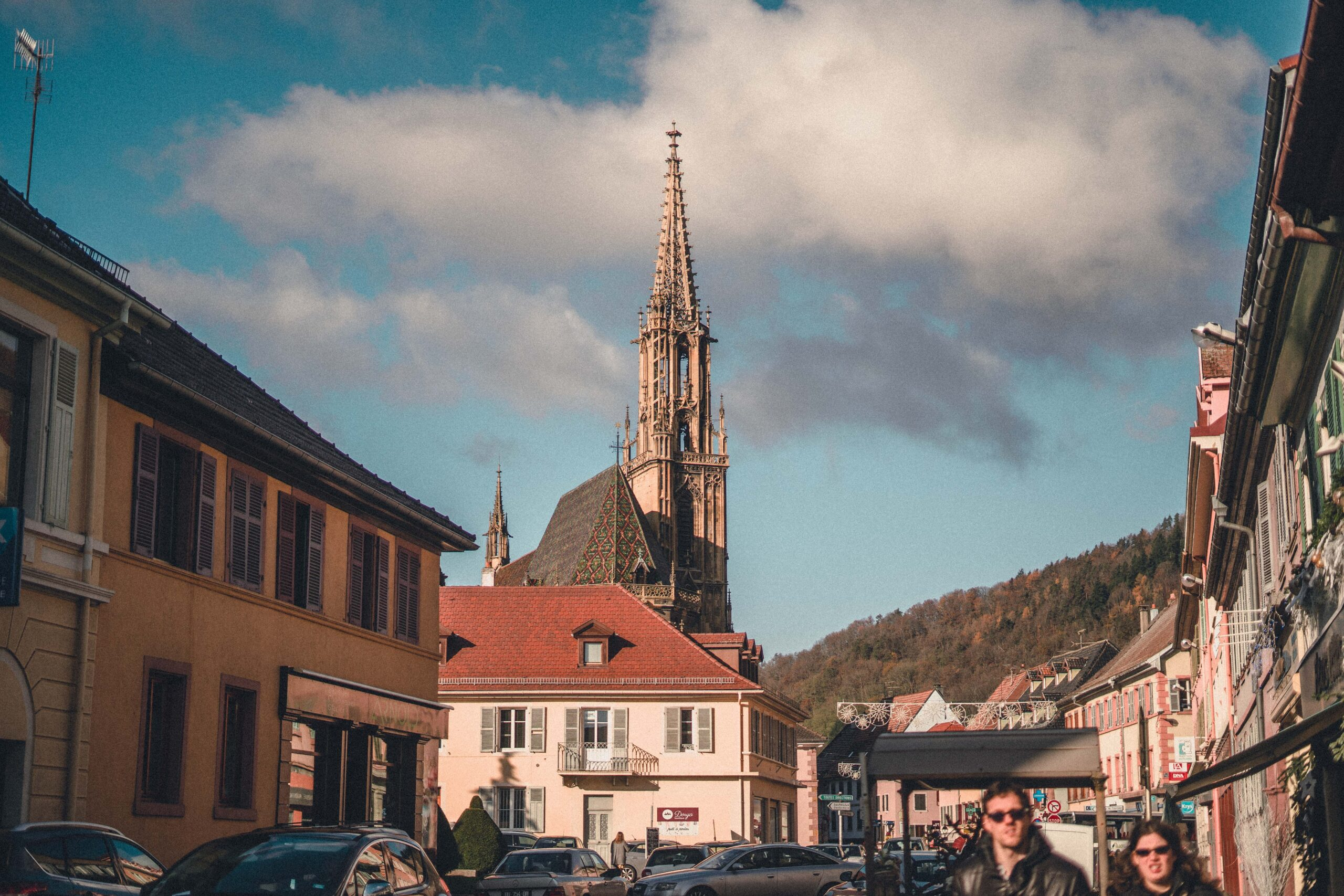 Thann Christmas Market Guide & Decorated Christmas Trees in the Alsace, Eastern France