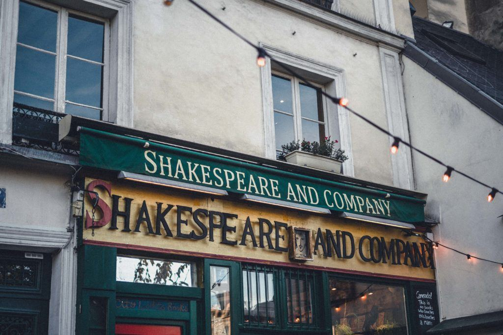 A Visit to Shakespeare & Company Cafe on the Left Bank in the Latin Quarter, Paris, France