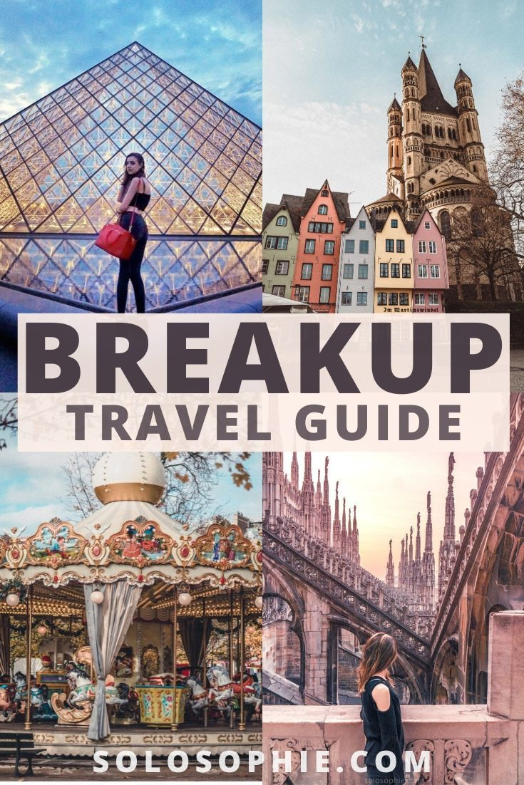 solo travel after a breakup. Here's How & Why You Should Turn to Travel After a Breakup. Post breakup travel guide, suggestions and what to do when travelling alone