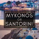 Mykonos or Santorini: Which Should You Visit? Looking for the best greek island to visit in Greece? Here's where to go this year and why!