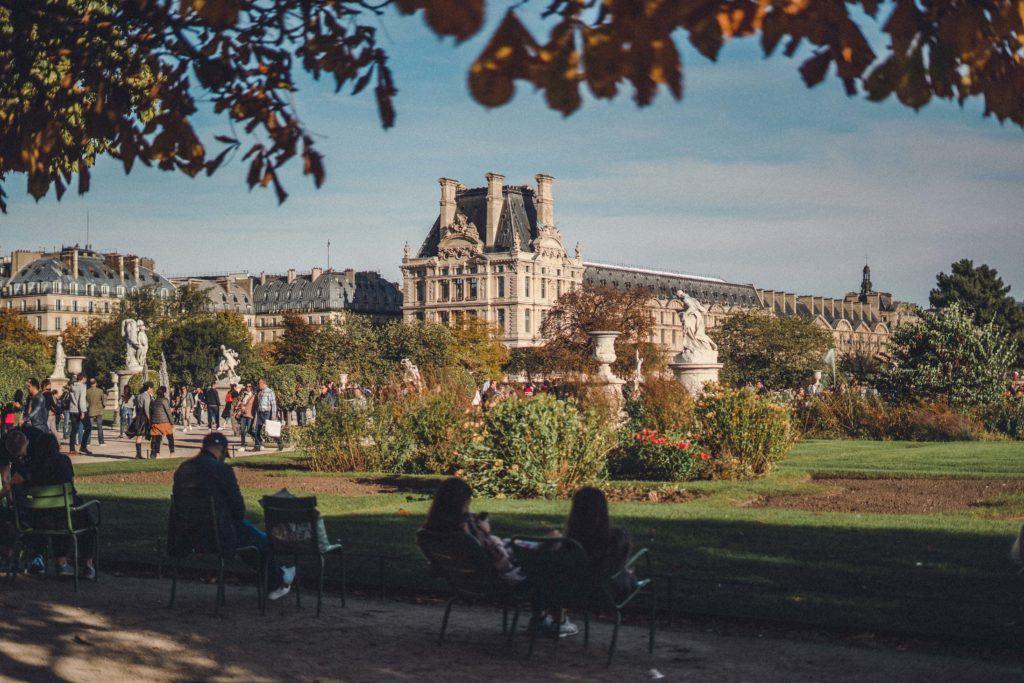 Explore Jardin des Tuileries in Paris' 1st arrondissement of Paris France