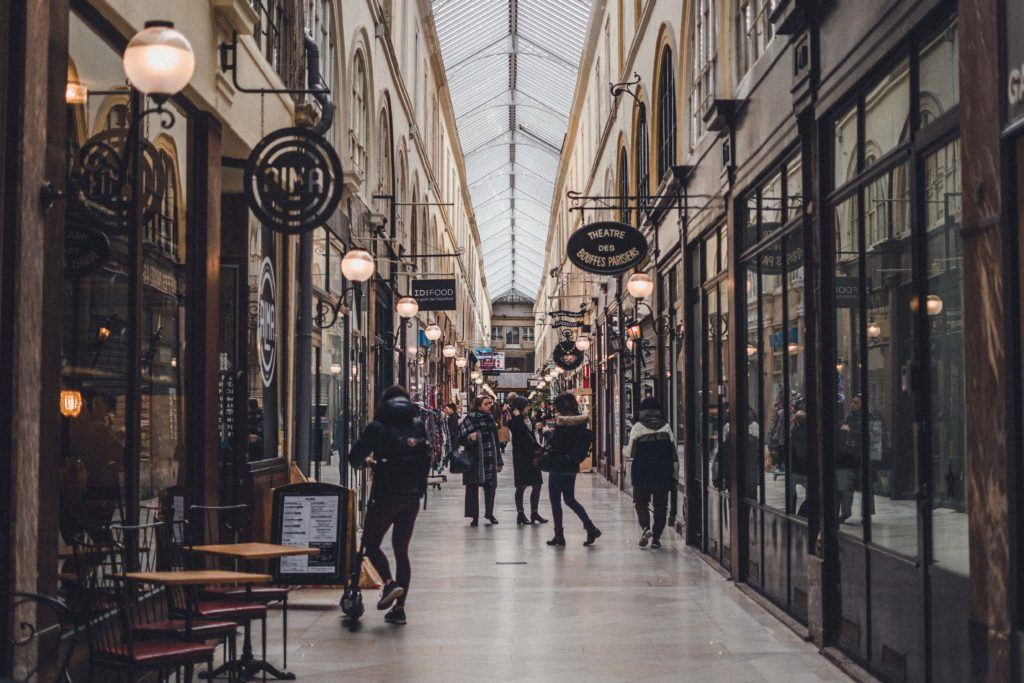 Passage Choiseul: A Covered Passage in the 2nd Arrondissement of Paris, France