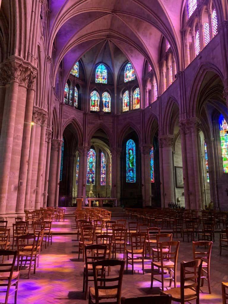 Visit the Abbey ofSaint-Pierre (full name: L'abbatiale Notre-Dame-des-Ardents-et-Saint-Pierre)