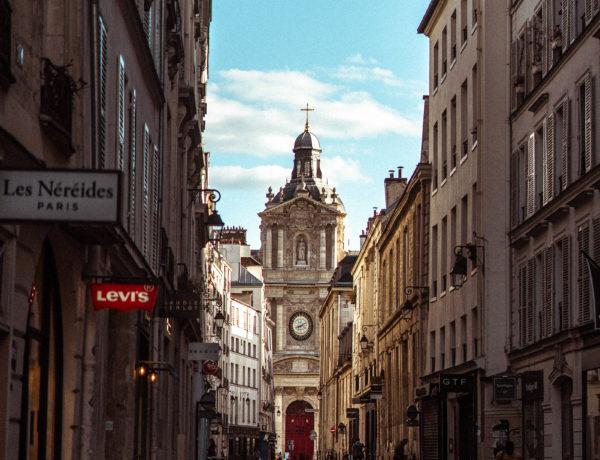 Rue de Sévigné, A Pretty Street in Le Marais
