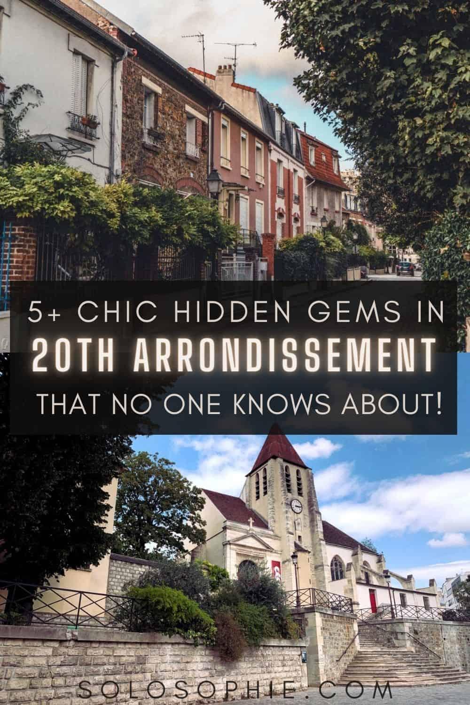 hidden gems 20th paris france/ An Insider's Guide to the Best of Paris' 20th Arrondissement