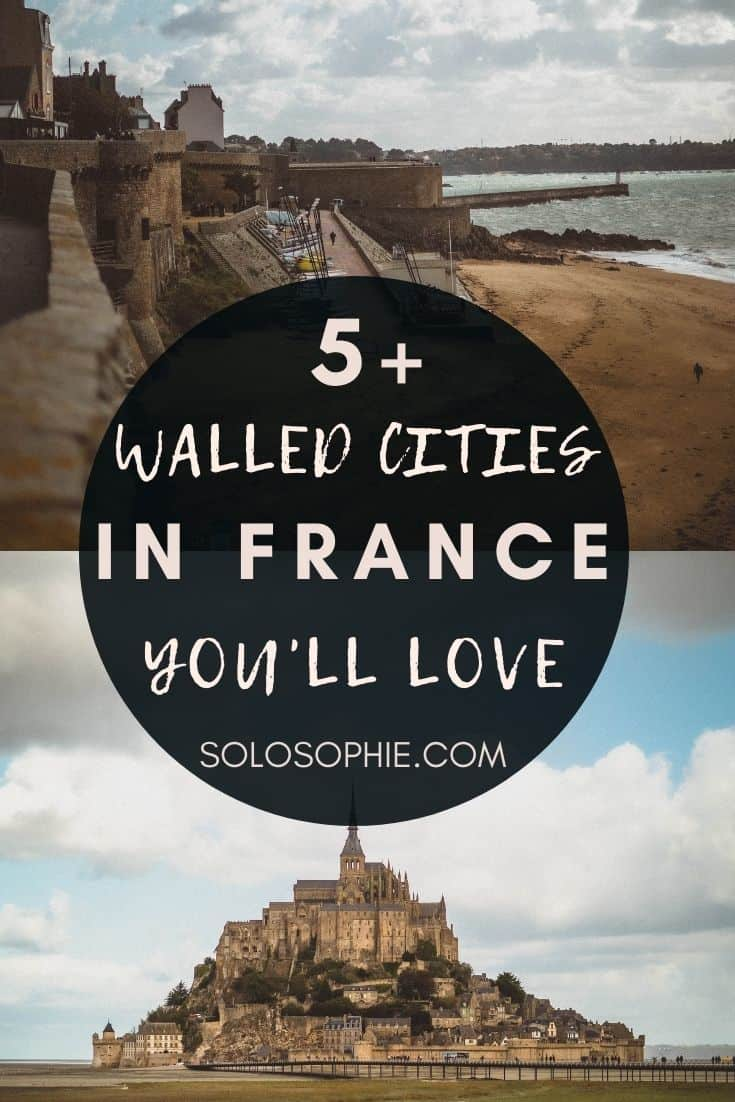Amazing Walled Cities in France Straight out of a Storybook/ French towns with ramparts in Europe