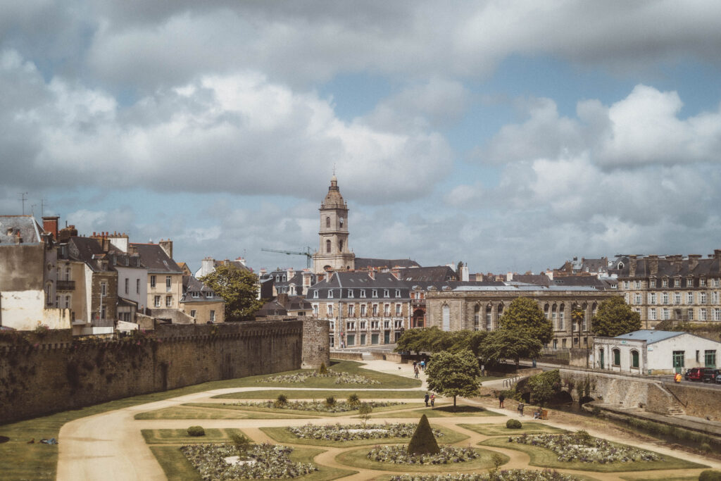 Vannes Ramparts Brittany France