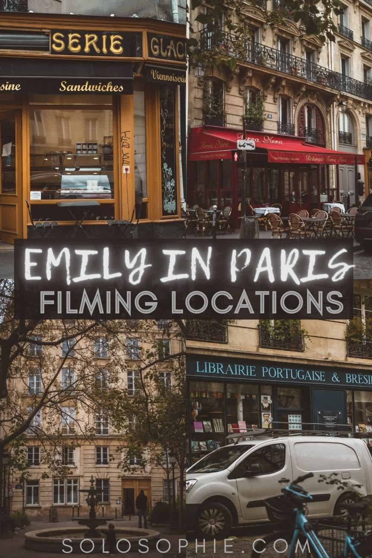 Emily in Paris Filming Locations in Paris & Beyond/ Emily in Paris France