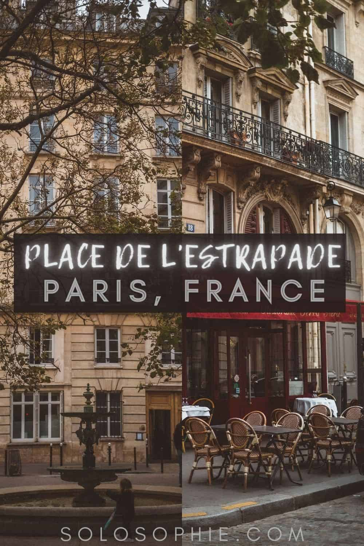 Place de l'Estrapade: A Delightful Square in the 5th Arrondissement paris france