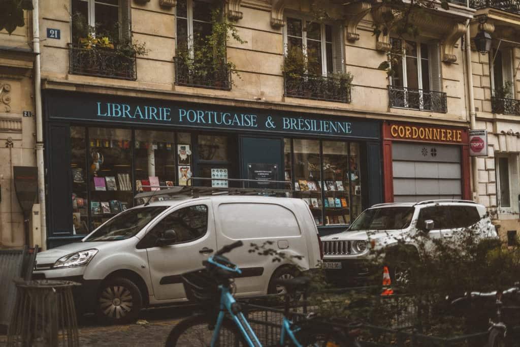 Librairie Portugaise et Brésilienne,21 Rue des Fossés Saint-Jacques, 75005