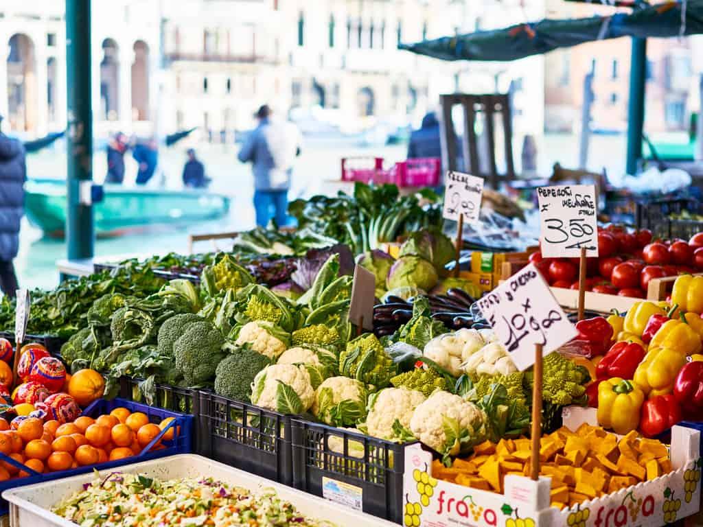 Rialto Market Venice Italy