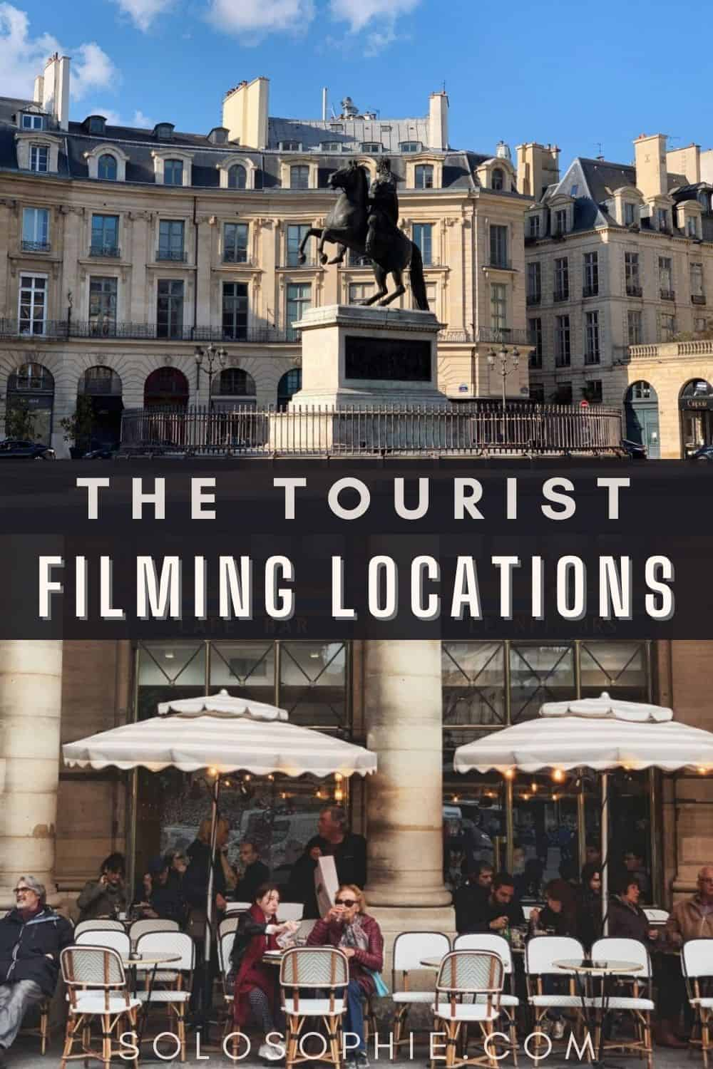 The Tourist Filming Locations in Venice and Paris (France and Italy filming locations)