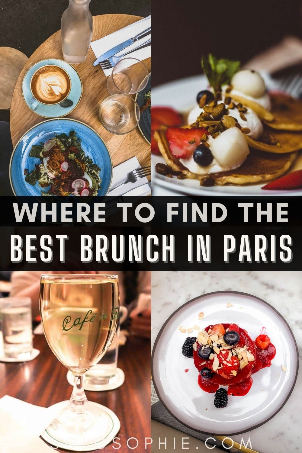 Paris brunch guide/ Where to Find the Best Brunch in Paris France Europe