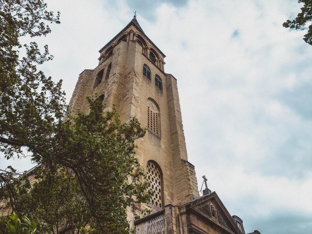 Saint Germain des Prés church