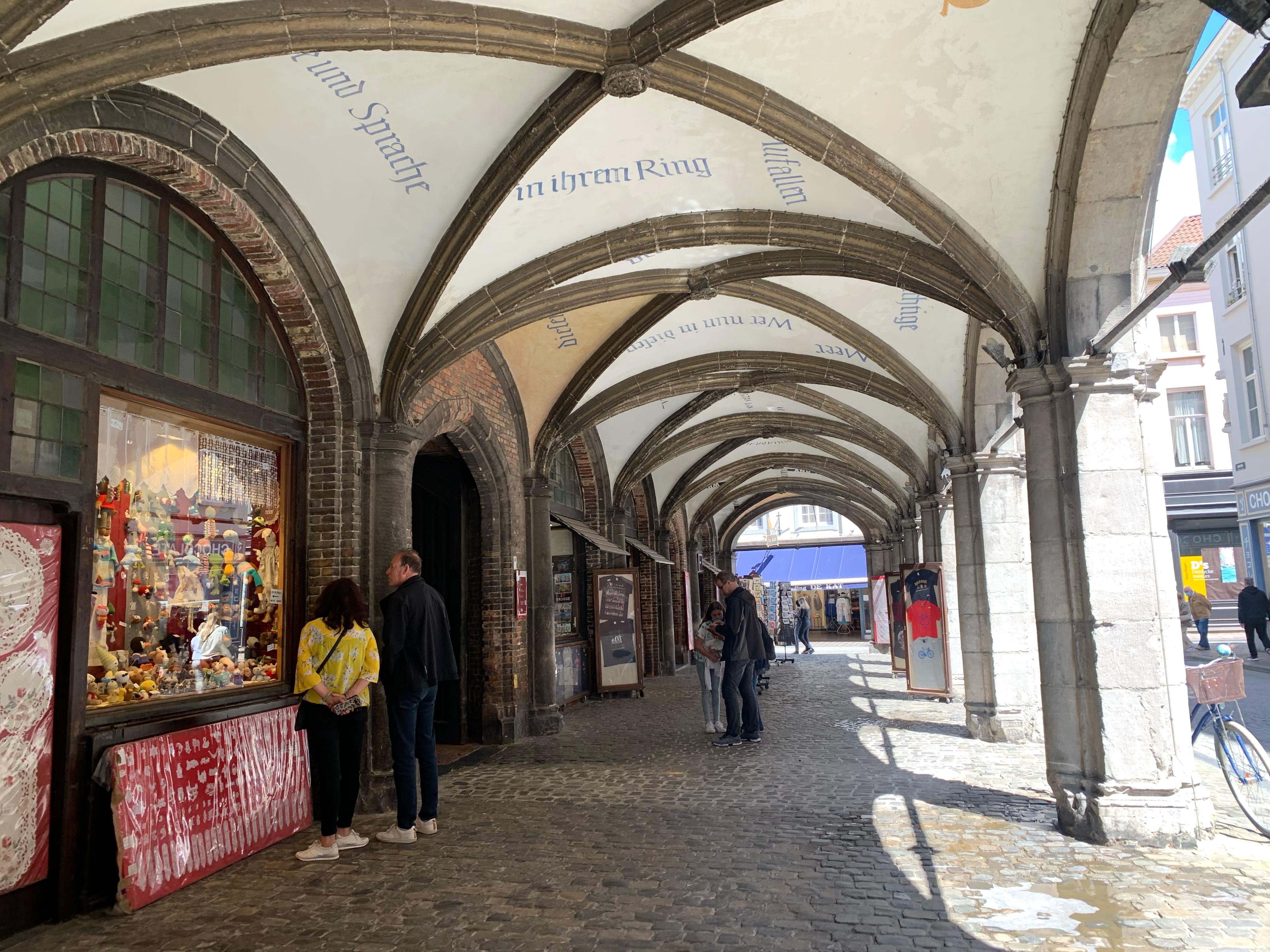 Arcade behind the Belfry