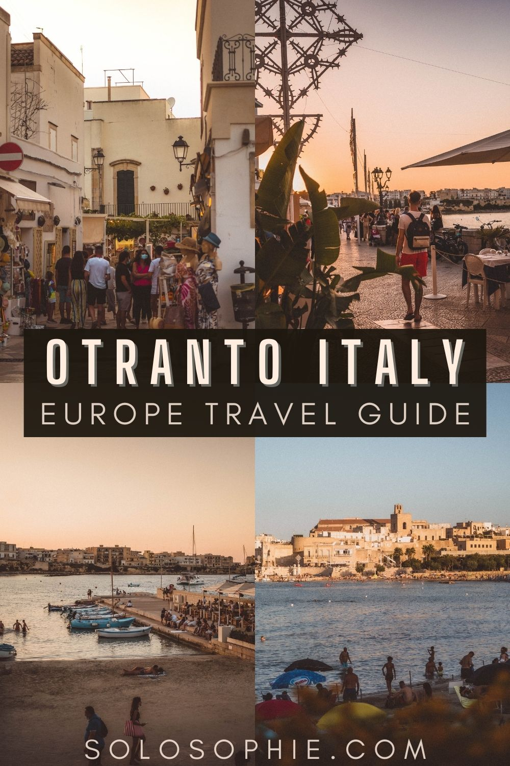 Best of Otranto Italy/ A Guide to the Best Things to do in Otranto, Puglia Italy Europe