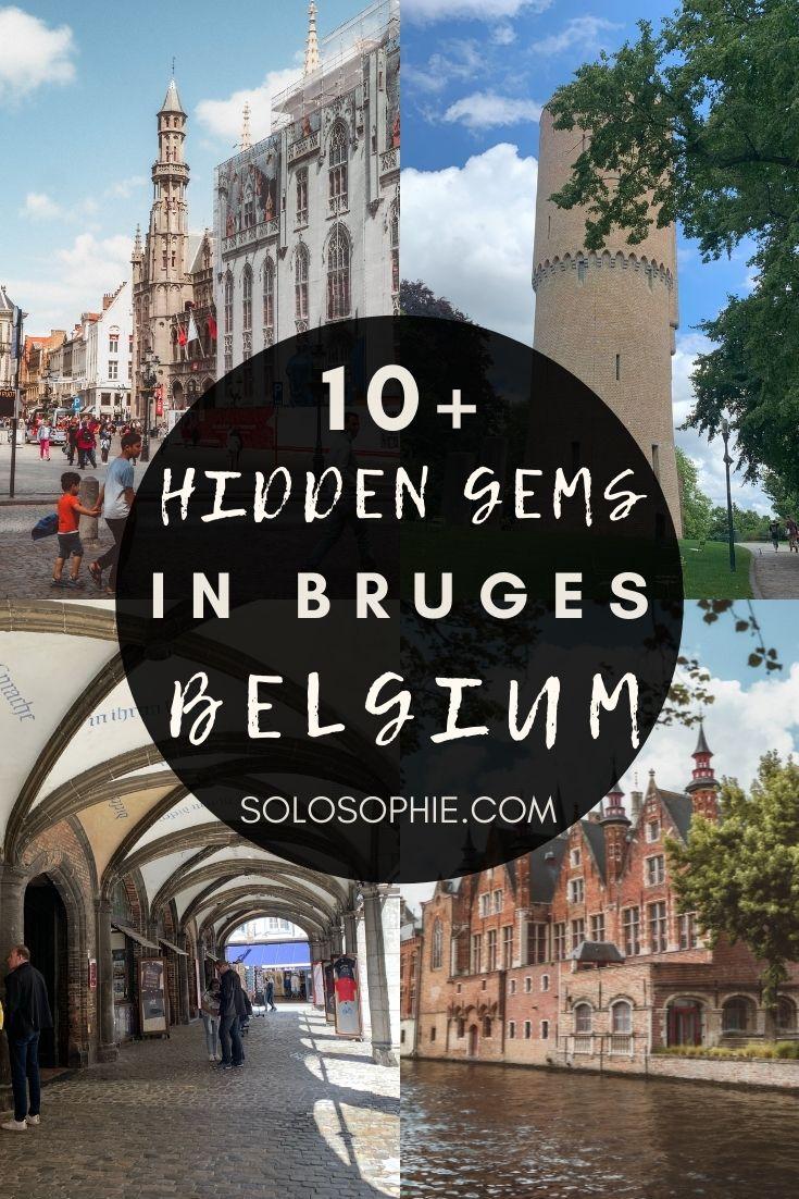 Hidden Gems and Secret Spots in Bruges you must visit in Flanders Belgium Europe