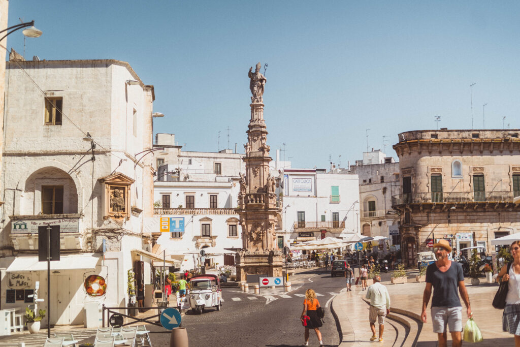 Check out Piazza della Liberta
