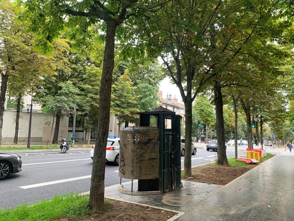 The Oldest Urinal in Paris