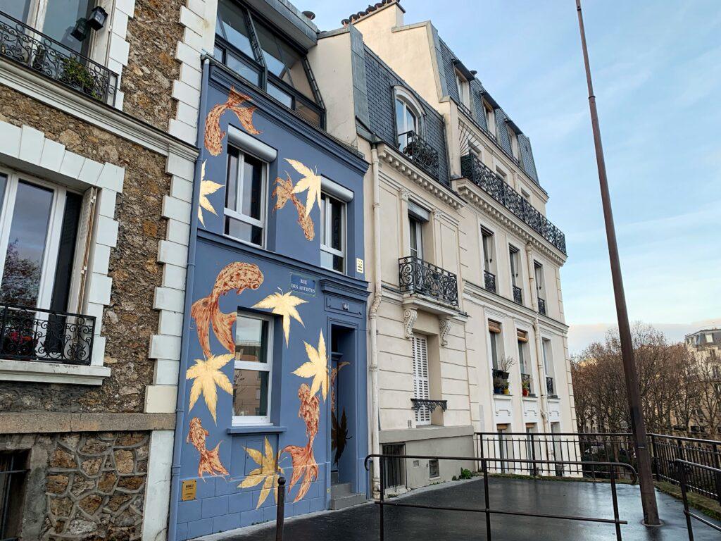 rue des artistes paris