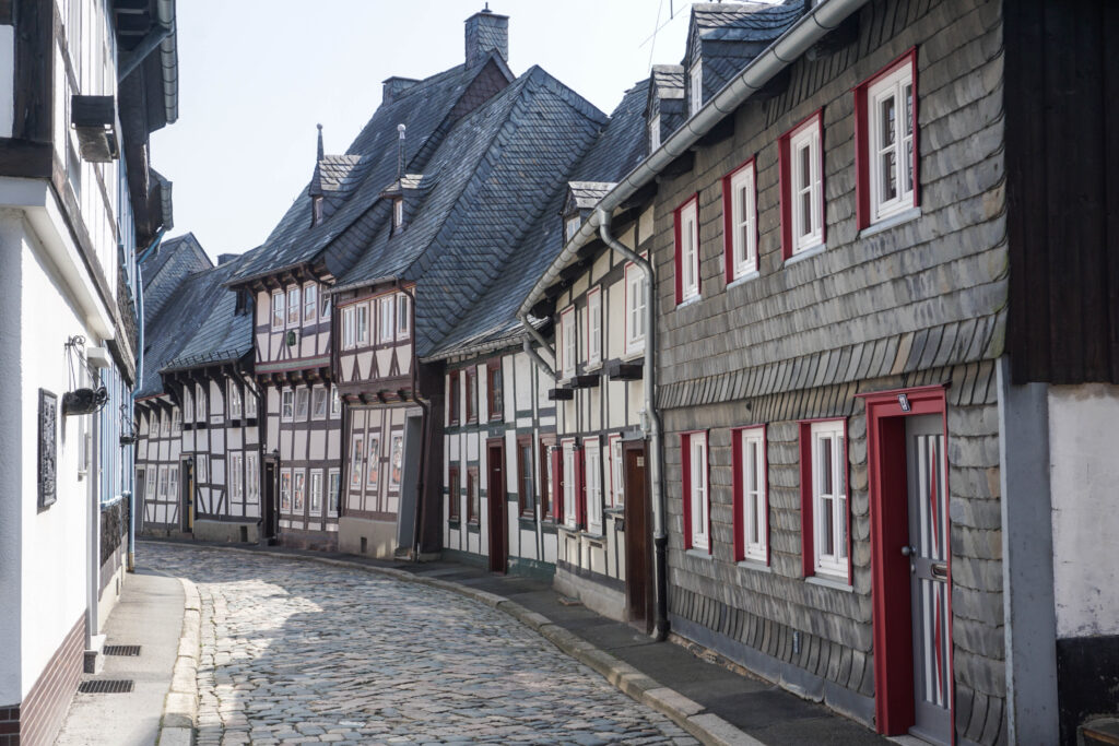 The medieval town of Goslar