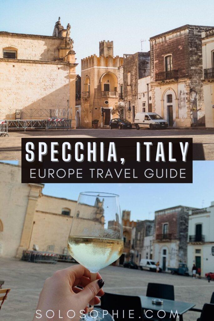 Best of Specchia/ Things to do in Specchia Puglia Italy Europe