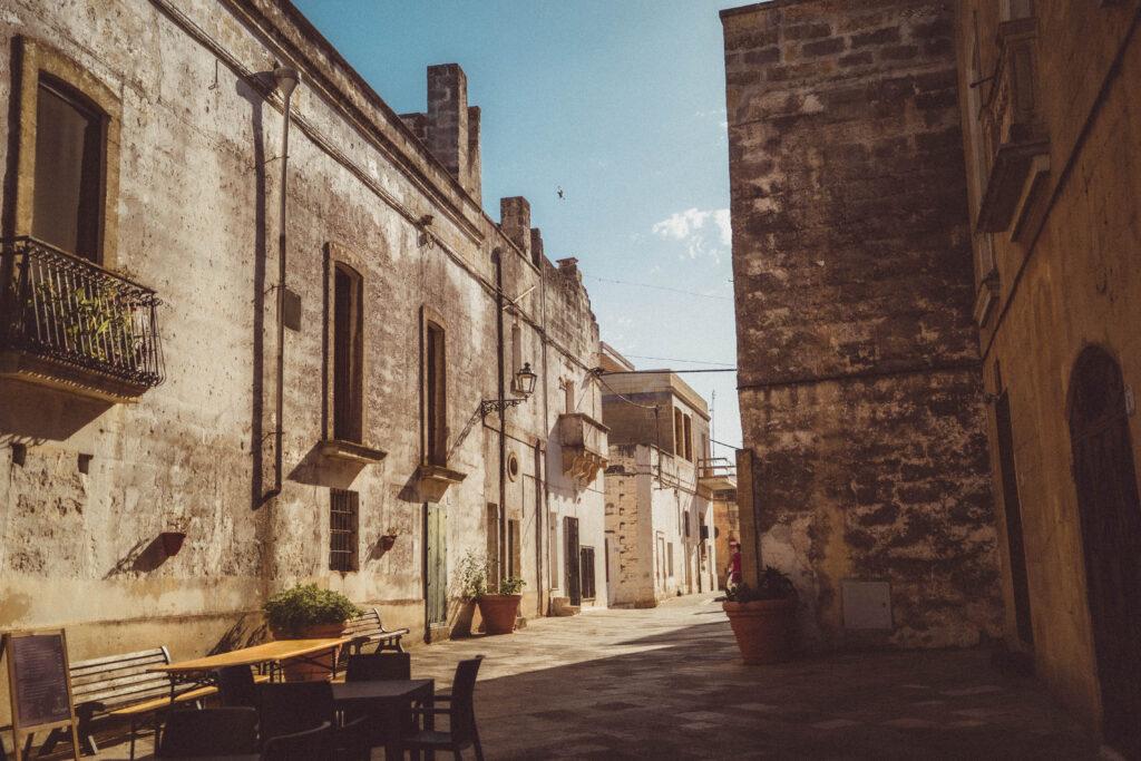 old town specchia italy